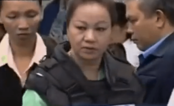 Janet Lim Napoles arriving at Senate hearing on PDAF scam on November 7, 2013. PCI screencap of GMA News footage.