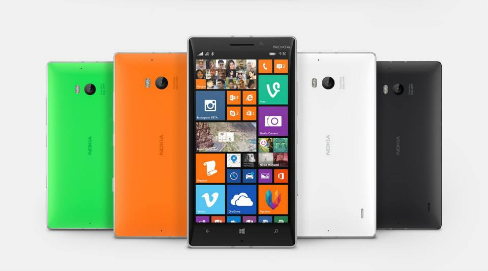 Nokia Lumia. Photo courtesy of Nokia official Facebook page.