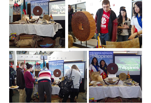 The Philippine Booth at Algonquin College's Celebration of Cultures.