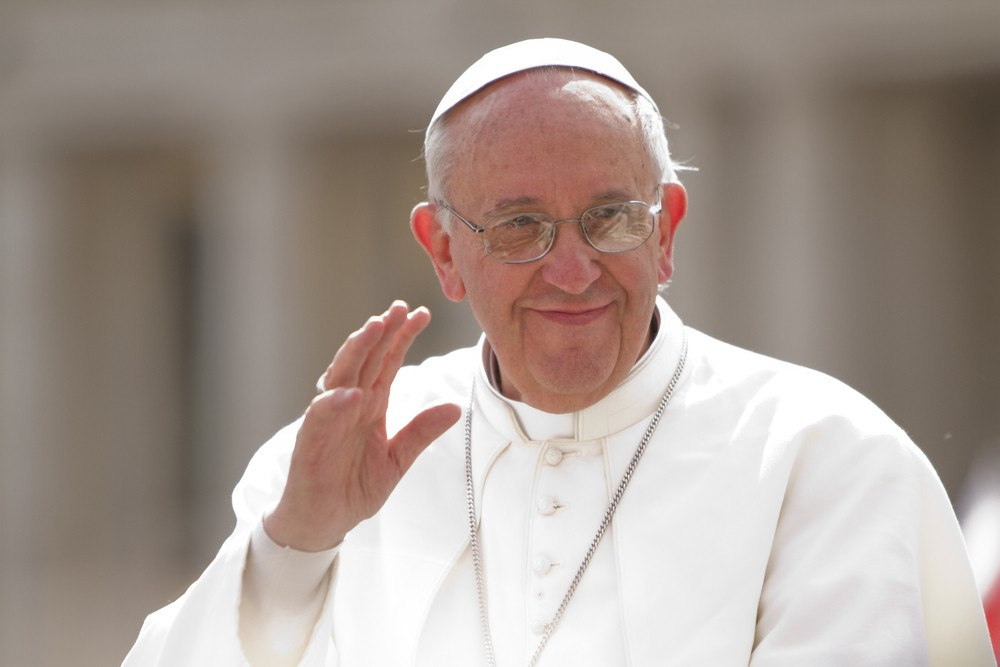 His Holiness Pope Francis (file photo). Philip Chidell / Shutterstock
