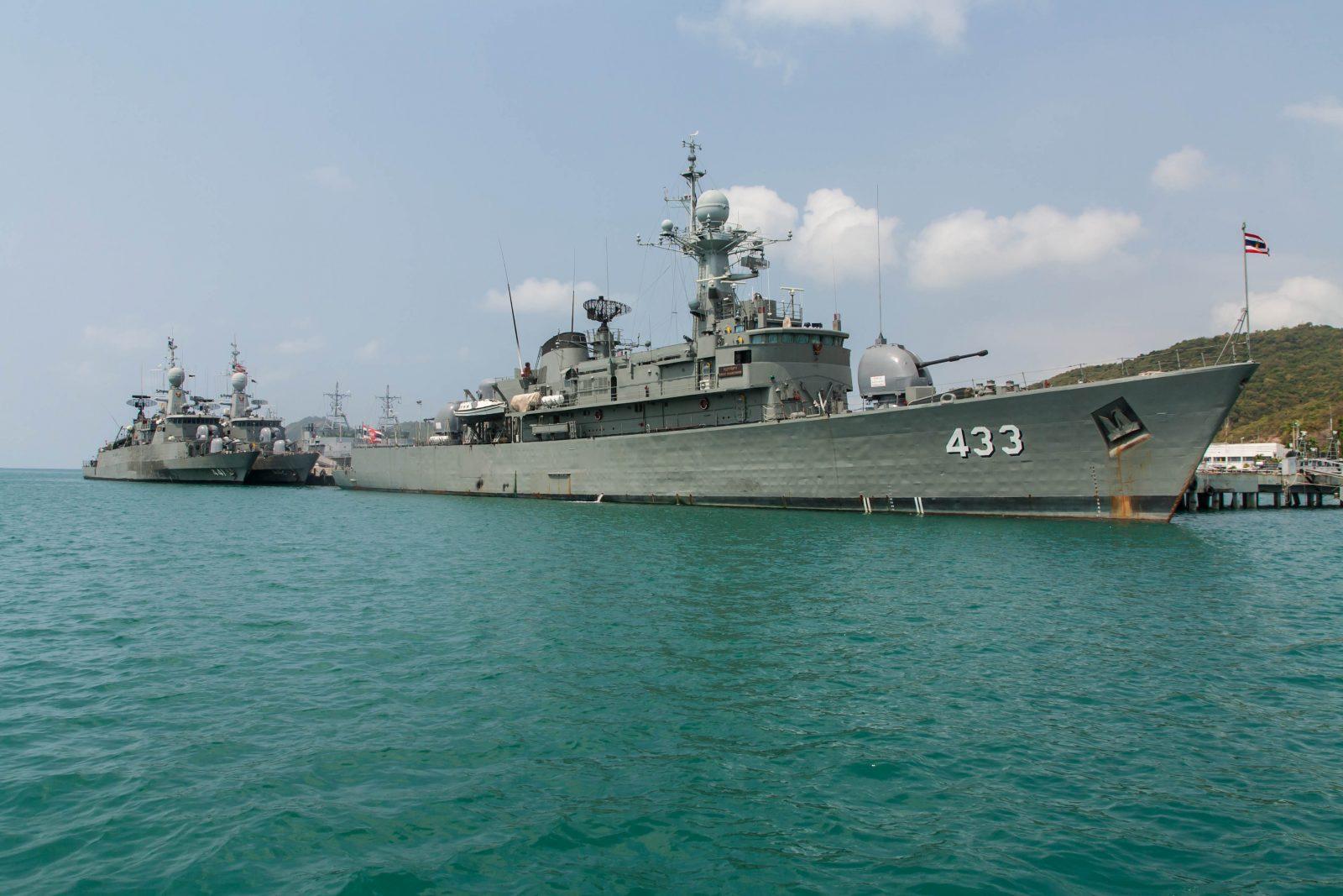 Warship stock photo by PATBOON