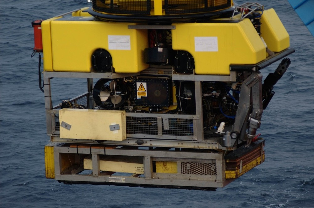 Remotely operated vehicle (ROV) submarine. File photo by Ingvar Tjostheim / ShutterStock