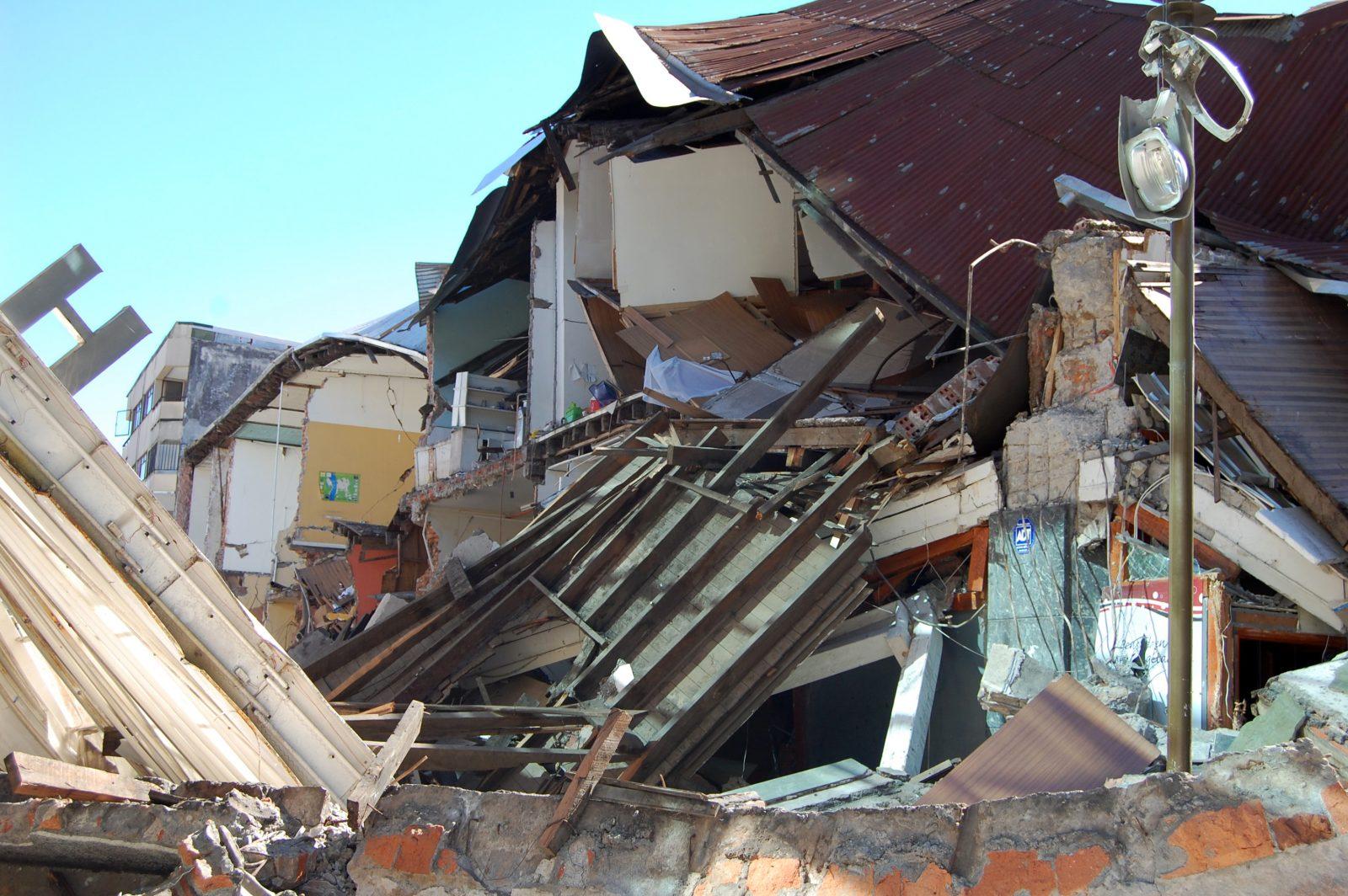 Magnitude-8.8 earthquake hit Chile in April 2010. Stock photo courtesy of Yai.
