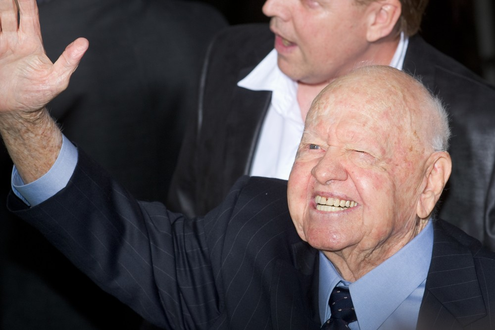 Actor Mickey Rooney dies at 93. Photo by Christopher Halloran / Shutterstock
