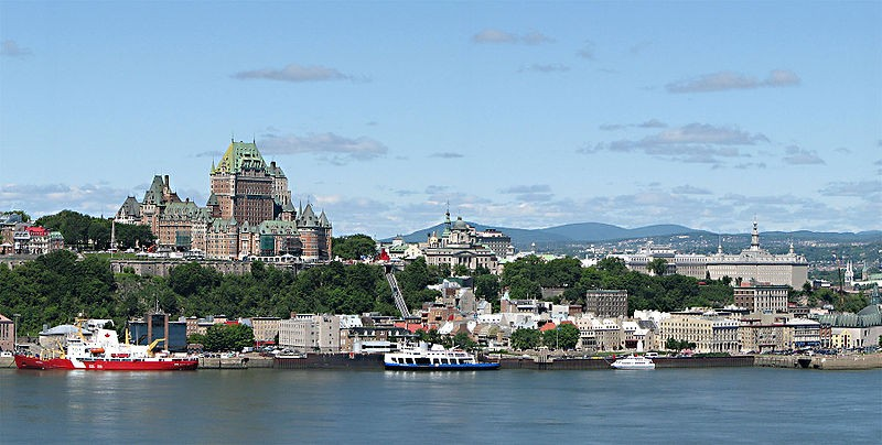 Quebec City, Rue St. Louis/ Photo by Chensiyuan/ CC BY-SA 3.0