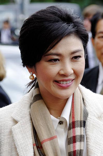 Prime Minister Yingluck Shinawatra (Wikipedia photo)