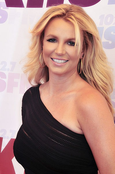 Britney Spears in 2013. (Wikipedia photo)