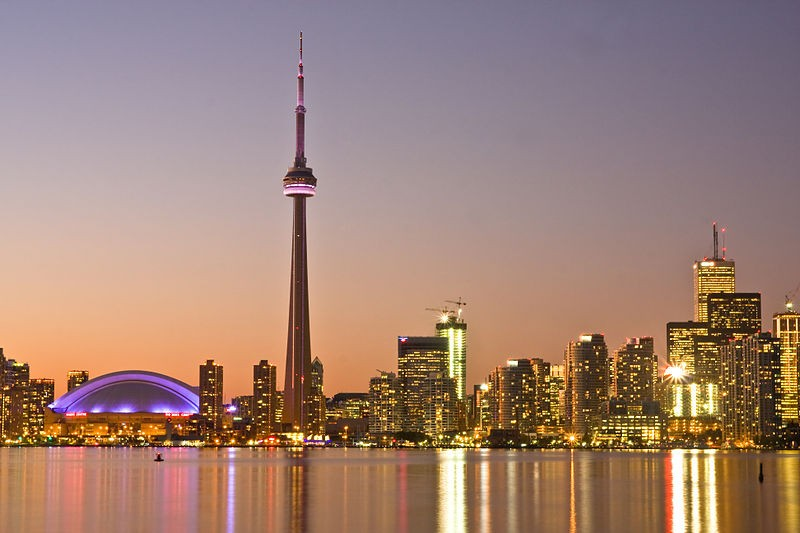 Toronto at Dusk/ Photo by Benson Kua/ CC BY-SA 2.0