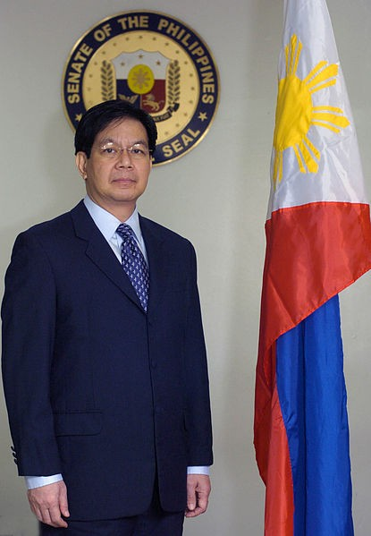 Former senator Ping Lacson revealed names of government officials on pork scam lists. Wikipedia photo