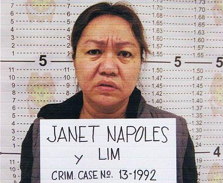 Alleged pork barrel scam mastermind: businesswoman Janet Lim Napoles. PNP Photo