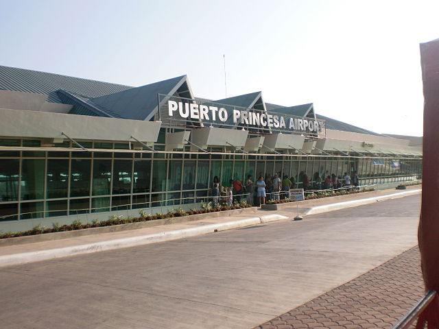 Existing Puerto Princesa International Airport (Wikipedia photo)