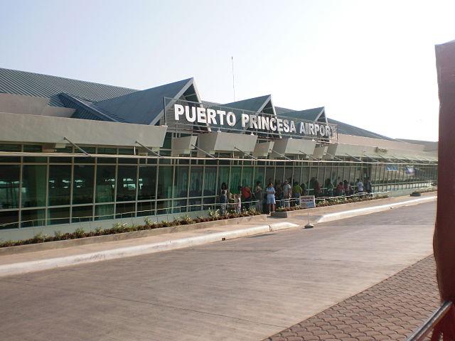 Existing Puerto Princesa International Airport (Wikipedia photo)