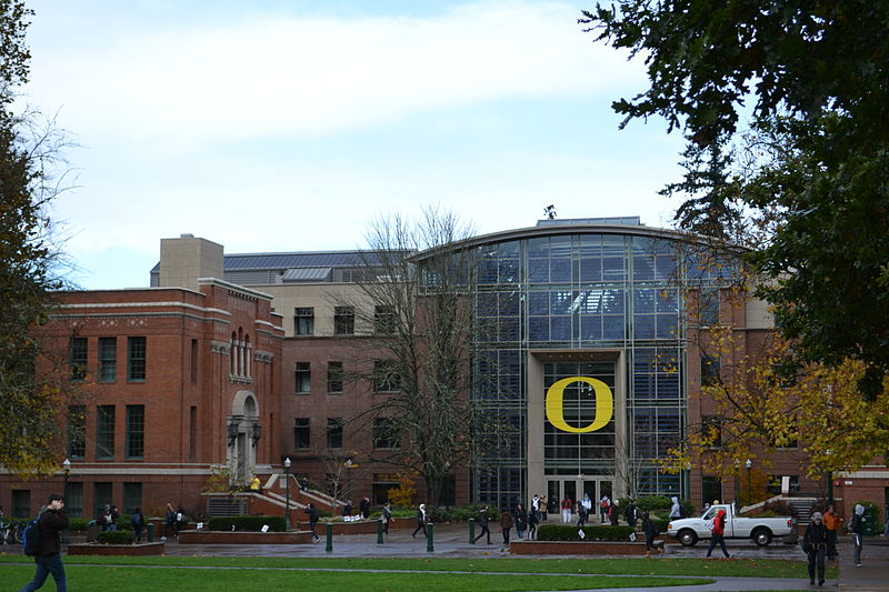 Lillis College of Business Complex in The University of Oregon. Photo by Visitor7 / Wikimedia Commons.