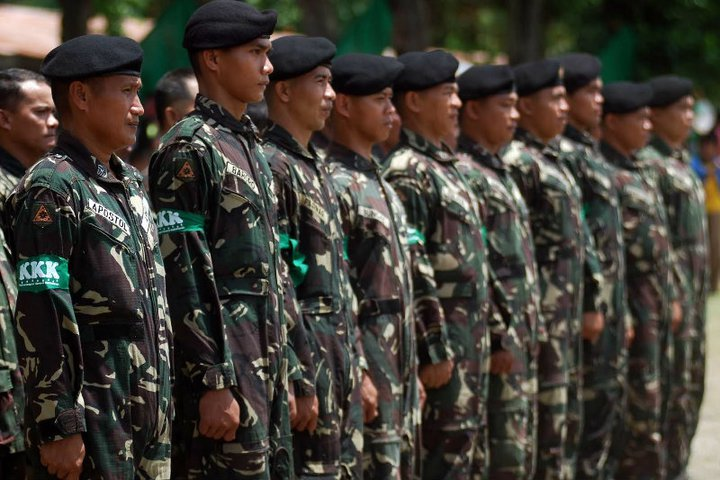 """Any effort that can bring about sustainable peace in our country is a worthy endeavor that deserves the nations support,"" said AFP spokesman Brig. Gen. Restituto Padilla. (Photo: AFP's  Facebook page)"