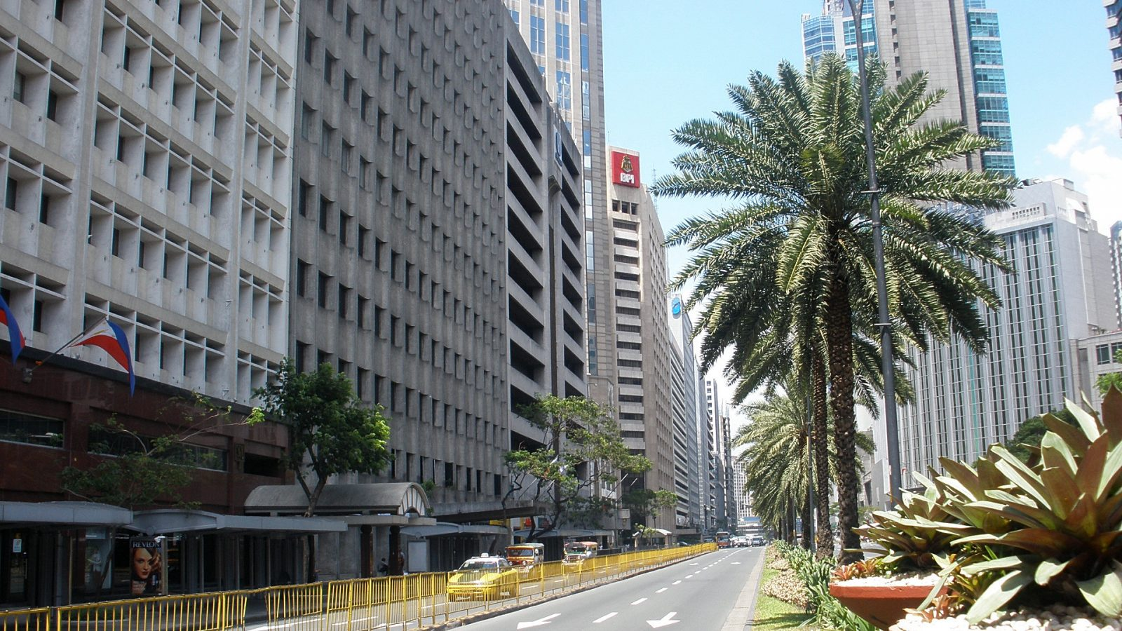 Ayala Avenue is part of the Makati Central Business District (CBD). Photo courtesy of Philippine Commercial Properties.