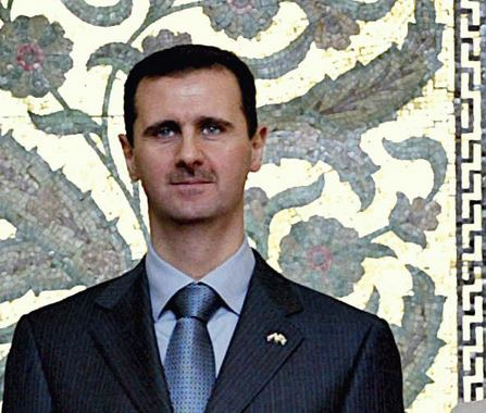 Syrian President Bashar Assad (Wikipedia photo)