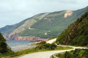 Ever-so-picturesque Cabot Trail in Cape Breton. Natalya Bratslavsky / ShutterStock