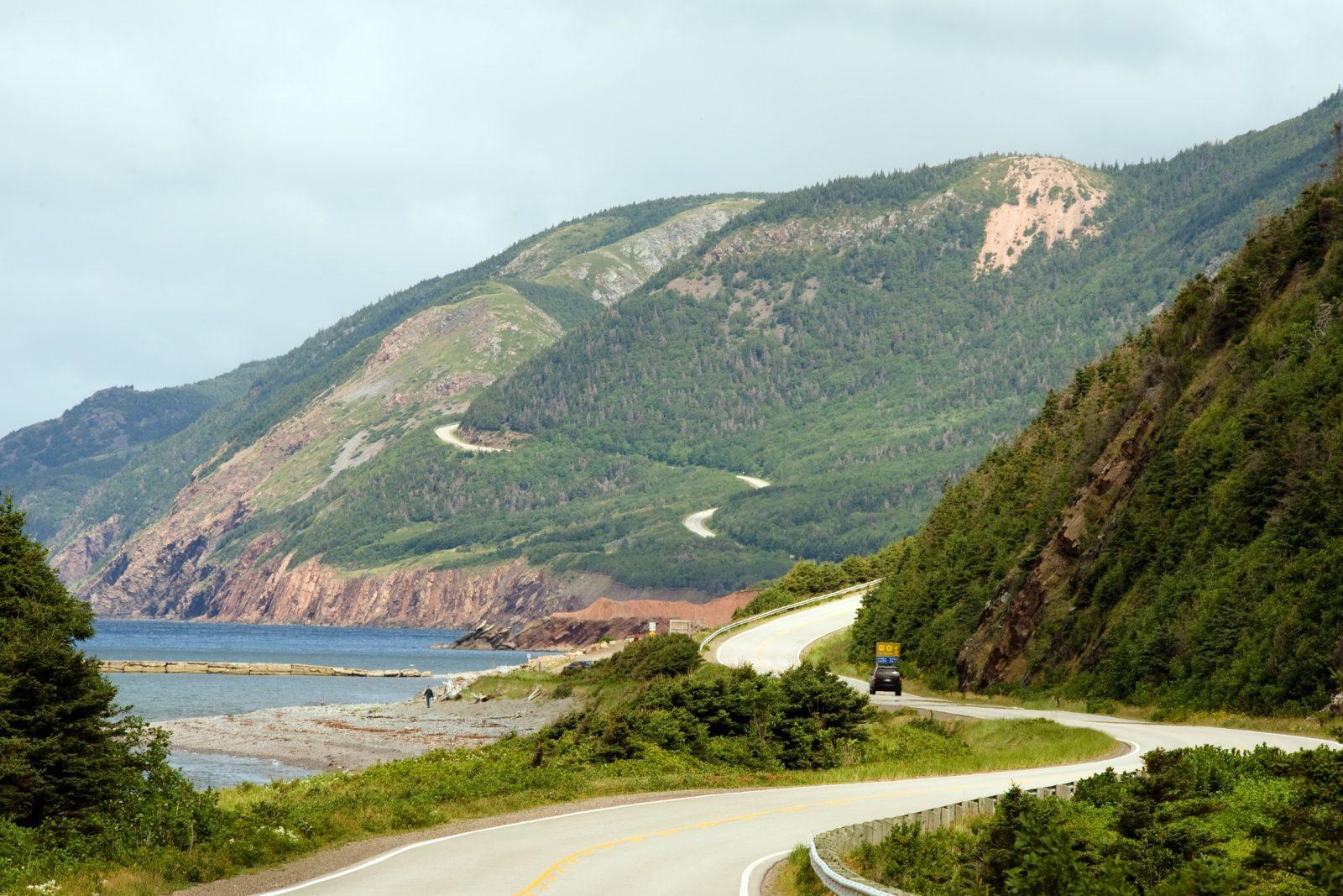 Ever-so-picturesque Cabot Trail in Cape Breton. Natalya Bratslavsky / ShutterStock