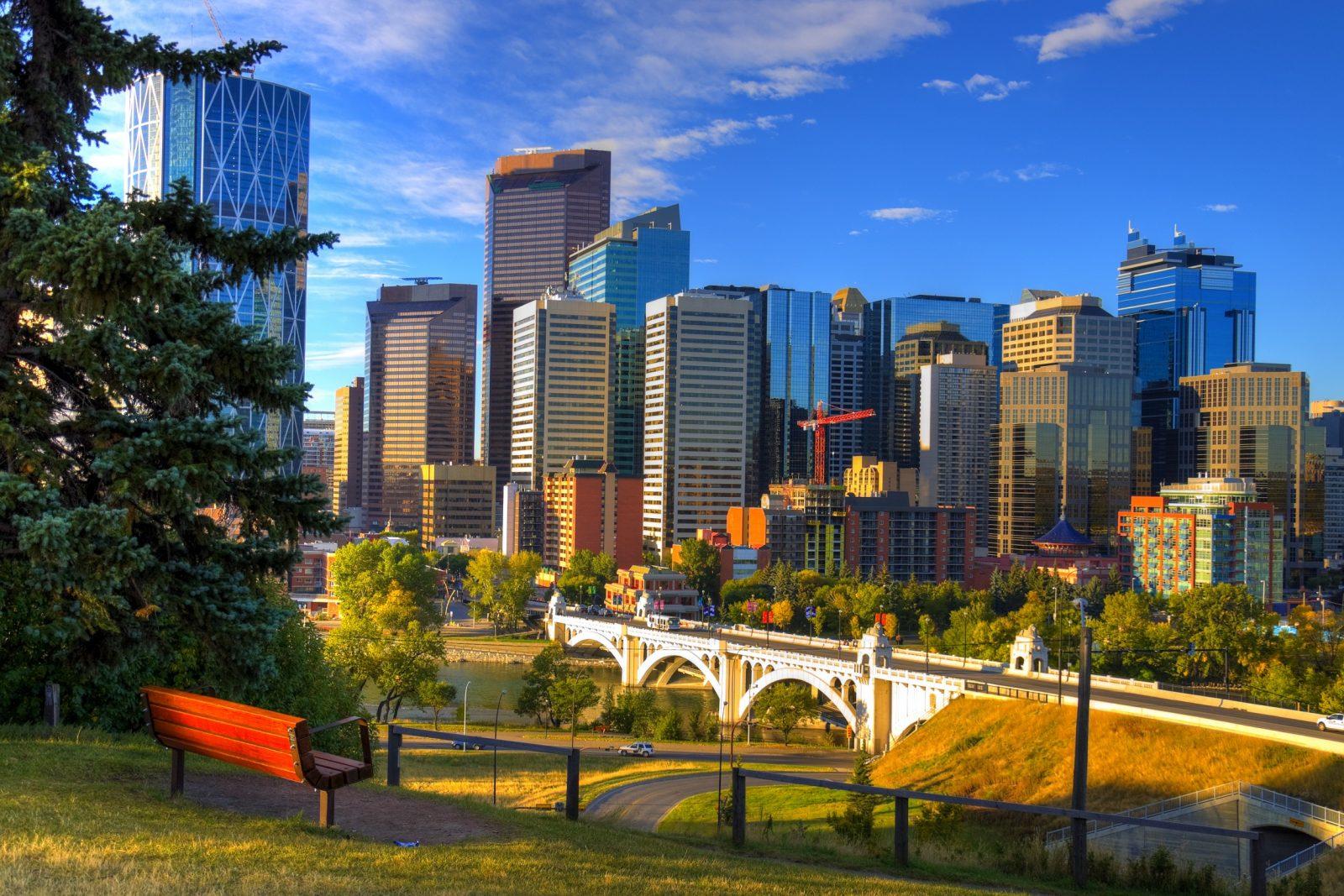 Skyscrapers of Calgary. Dolce Vita / ShutterStock