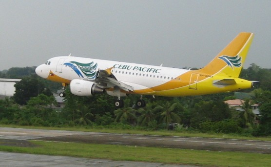 Cebu Pacific Airlines (Wikimedia Commons)