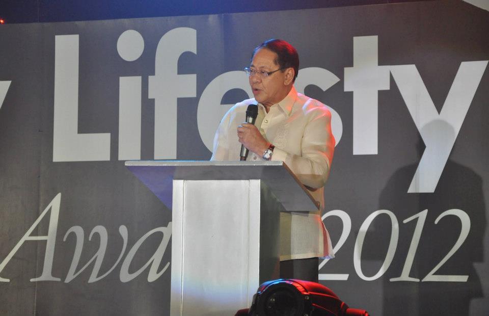 Former senator Edgardo Angara. Photo from Angara's Facebook page.
