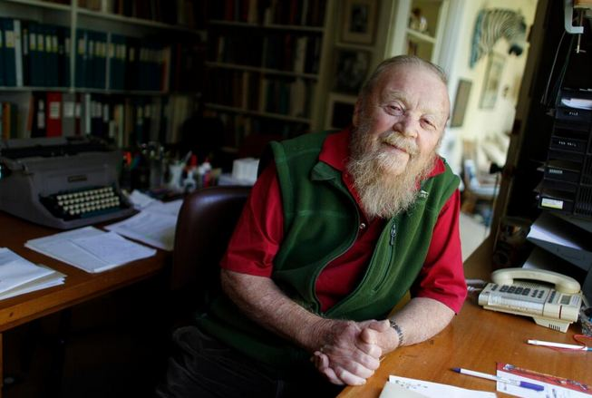 Farley McGill Mowat was a Canadian author and environmentalist. His works were translated into 52 languages, and he sold more than 17 million books. (Twitter photo)
