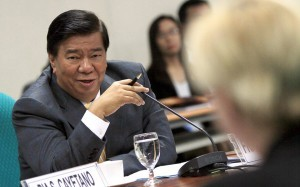 Senate President Franklin Drilon. Photo courtesy of Drilon's official Facebook page.