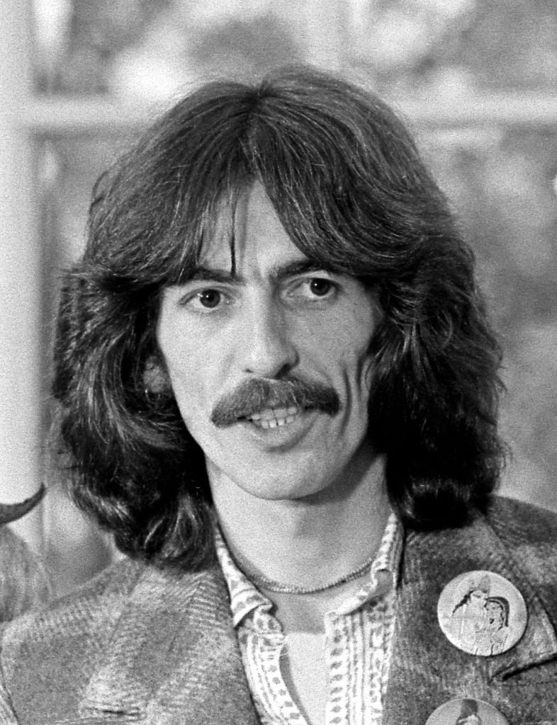 George Harrison in 1974 (Wikipedia photo)