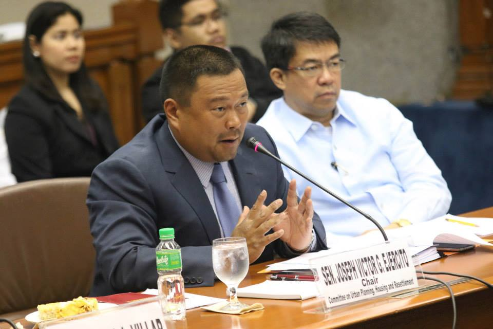 Sen. Joseph Victor 'JV' Ejercito. Photo courtesy of Ejercito's official Facebook page.