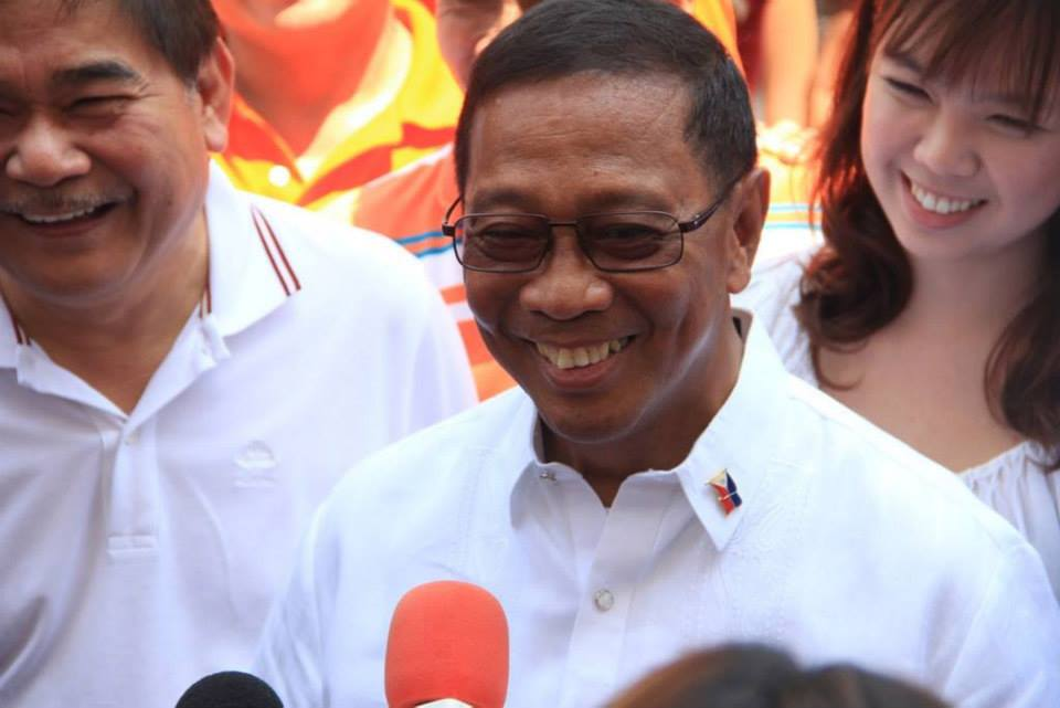 Vice President Jejomar Binay. Photo courtesy of Binay's official Facebook page.
