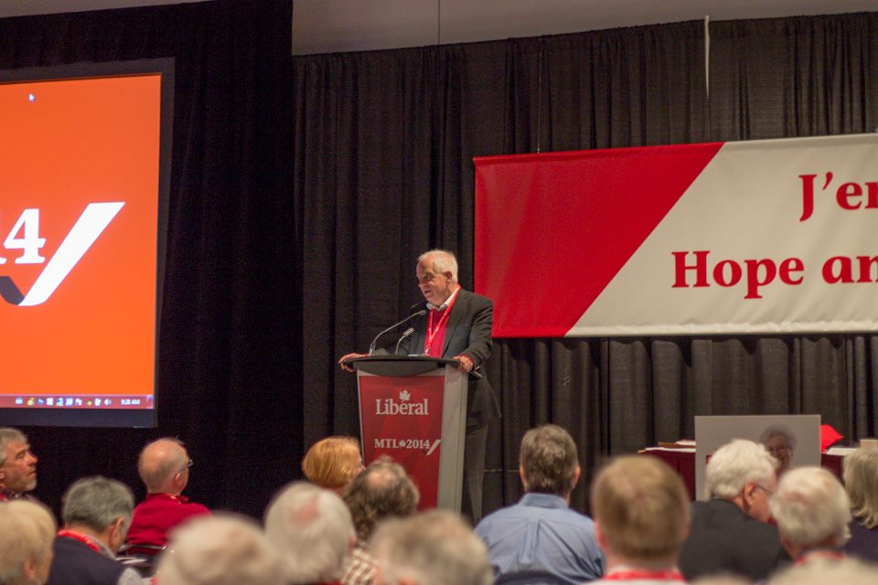 The Honorable John McCallum. Photo courtesy of McCallum's official Facebook page.