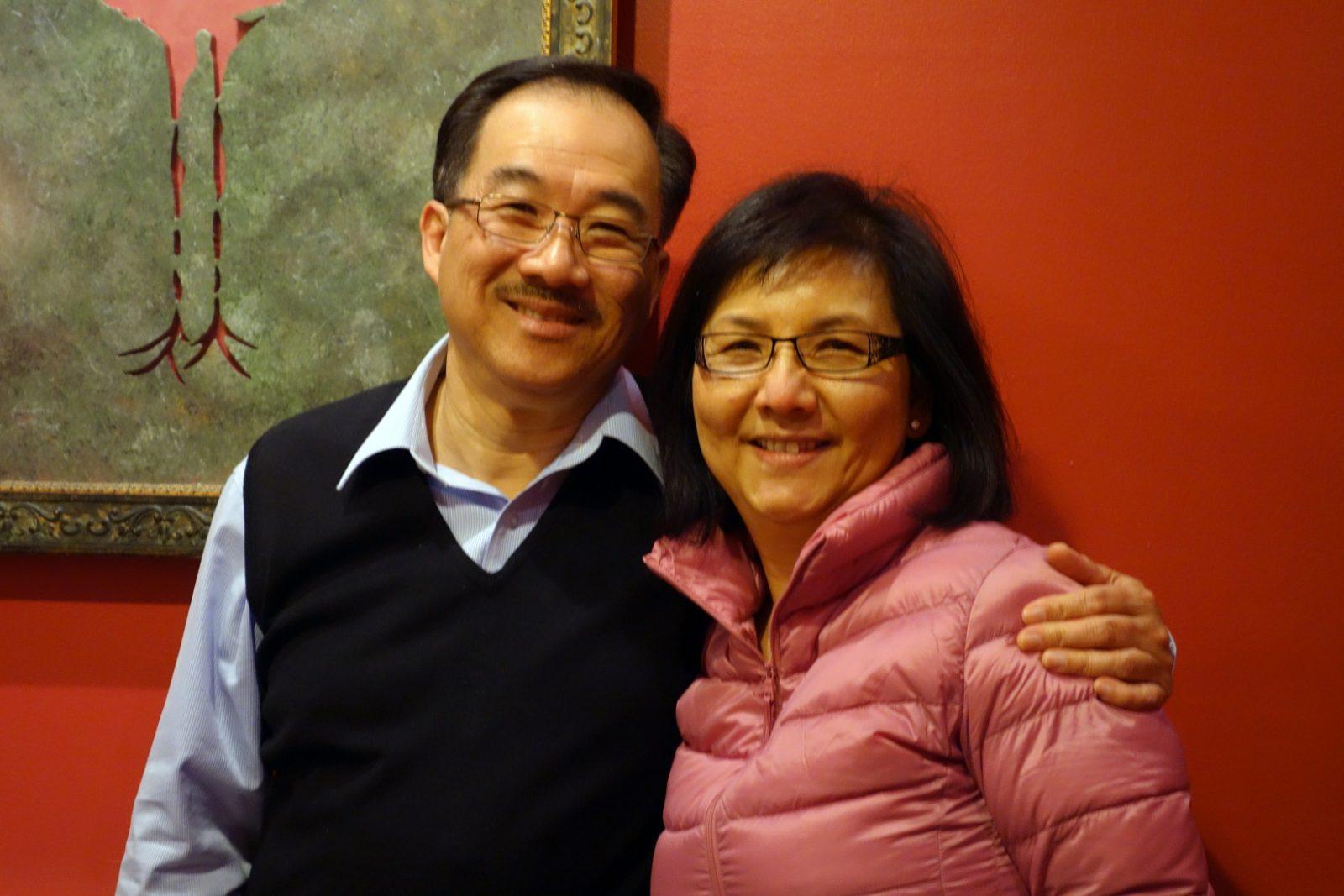 Restaurateurs Joseph and Doris Lee