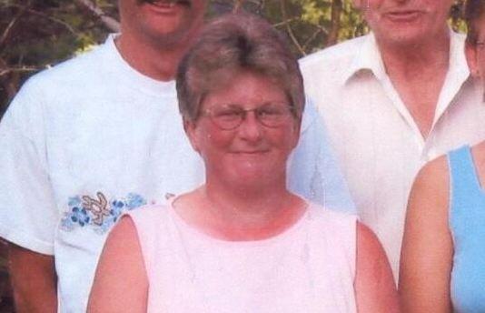 Murdered hockey mom Julie Paskall. Screenshot from CBC News footage.