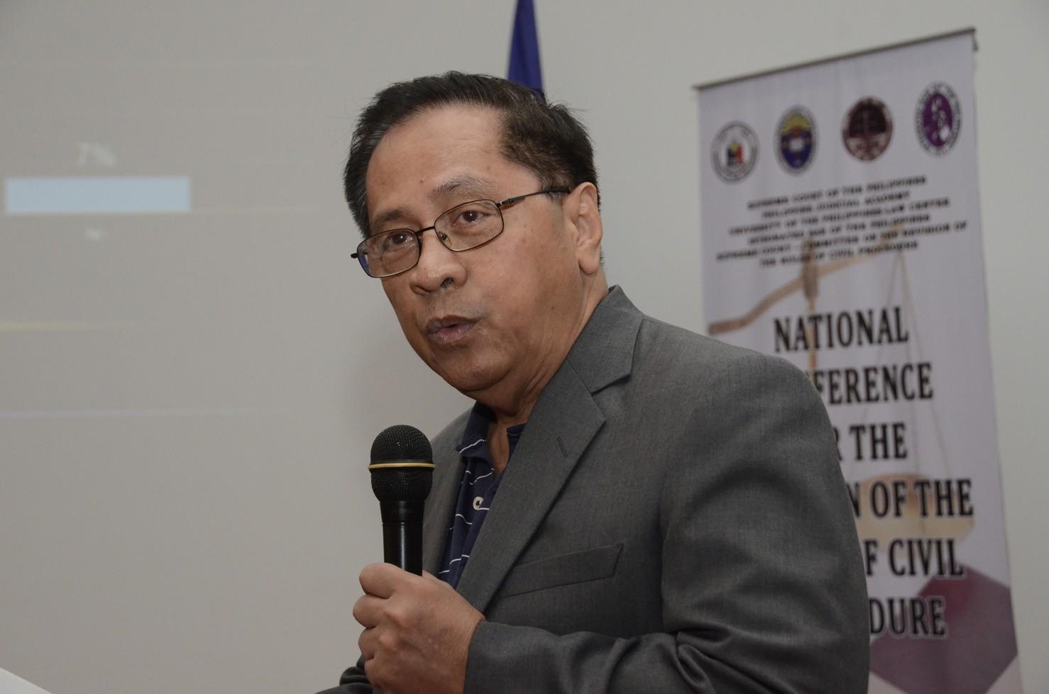 Justice Roberto Abad. Photo courtesy of sc.judiciary.gov.ph.