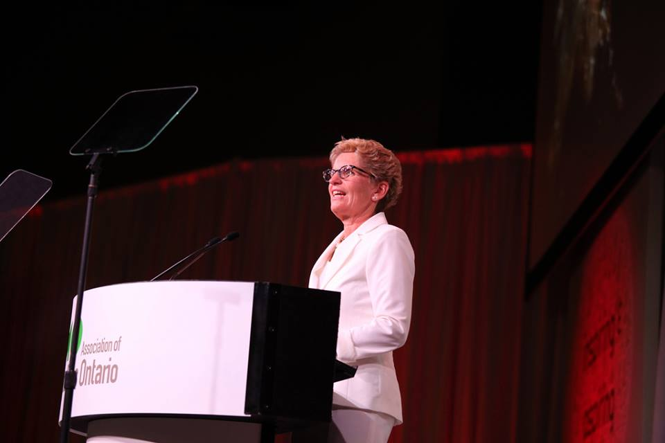 FILE: Ontario Premier Kathleen Wynne. Photo courtesy of Wynne's official Facebook page.