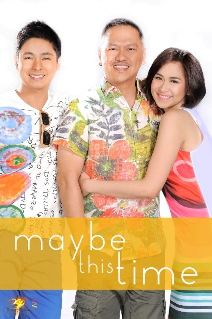 """Coco Martin and Sarah Geronimo in """"Maybe This Time"""""""