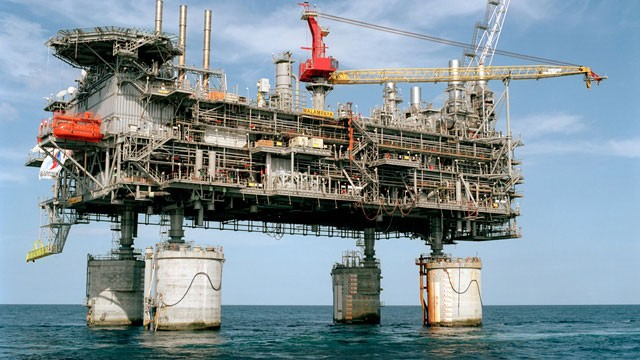 Malampaya gas platform (Photo courtesy of Sembcorp Marine)