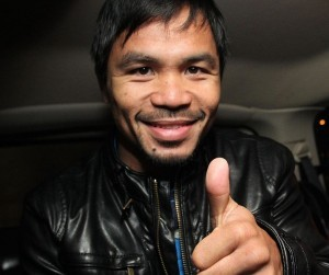 Photo courtesy of Chris Farina / Manny Pacquiao's official Facebook page