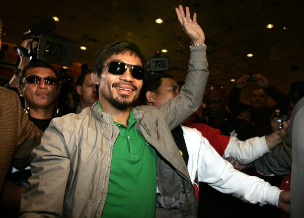 People's Champ and Sarangani Representative Manny Pacquiao. Photo by Chris Farina / Pacquiao's official Facebook page