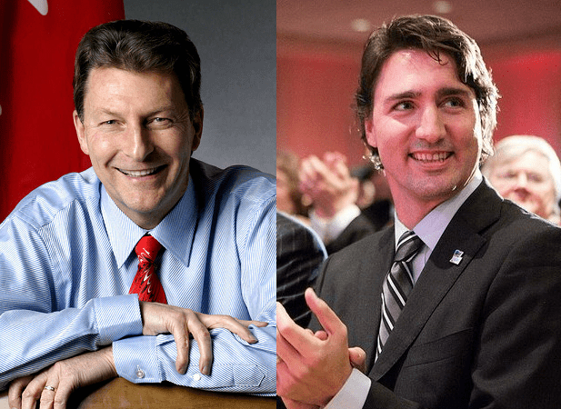 John McKay and Justin Trudeau