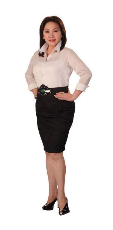 '24 Oras' anchor Mel Tiangco
