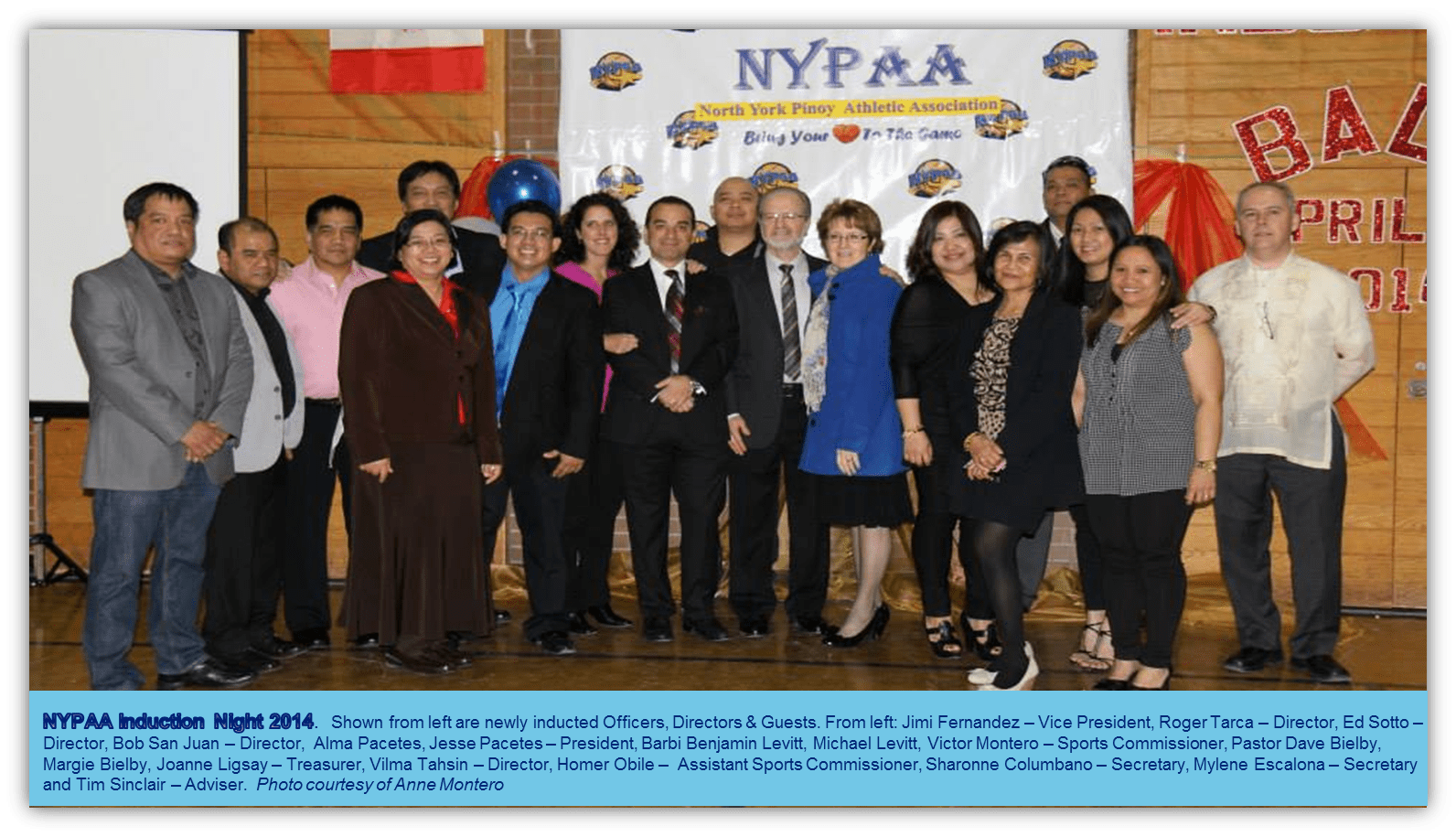 NYPAA-2014 Induction