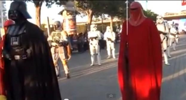 video of parade. (http://savemosespa.org/blog/)
