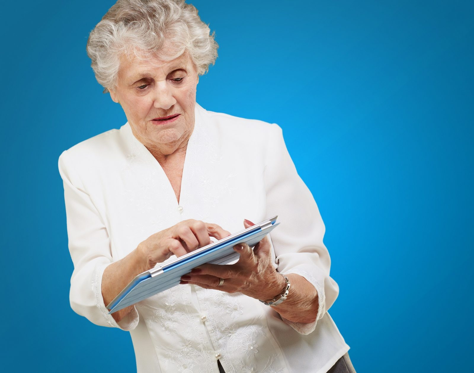 Gadgets (and sometimes even moms) never grow old. (ShutterStock)