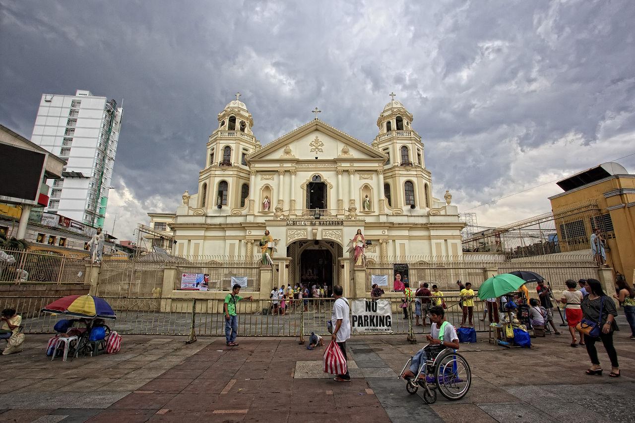 Quiapo Church. H. Abanil / Wikipedia