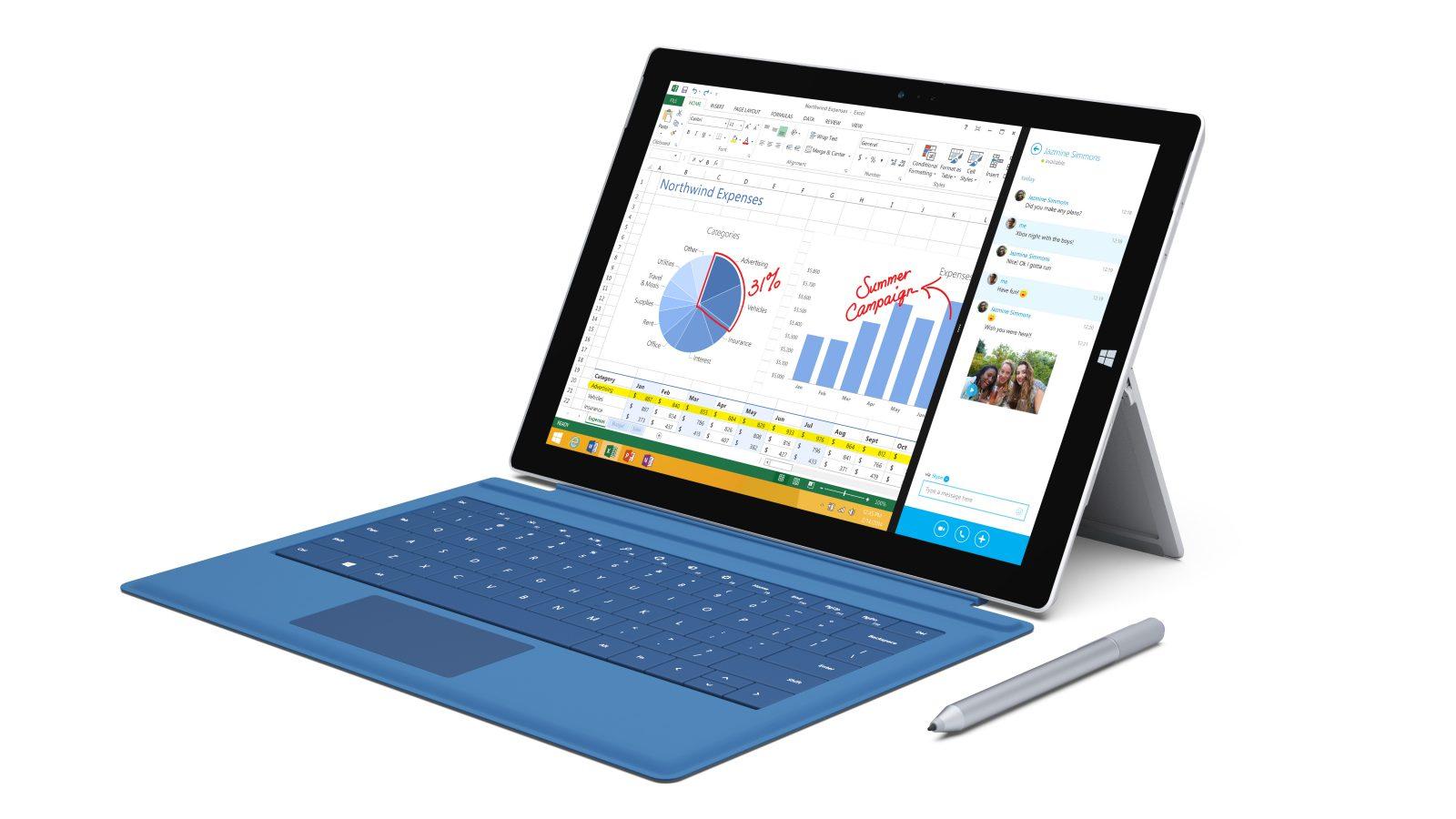 Microsoft unveils Surface Pro 3. Photo courtesy of Microsoft.