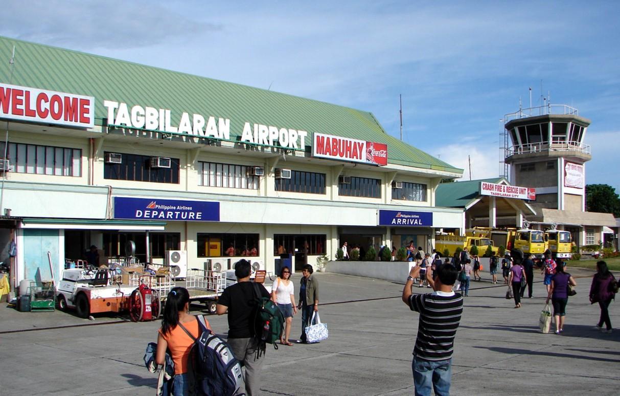 Tagbilaran Airport in Bohol. Wikipedia photo