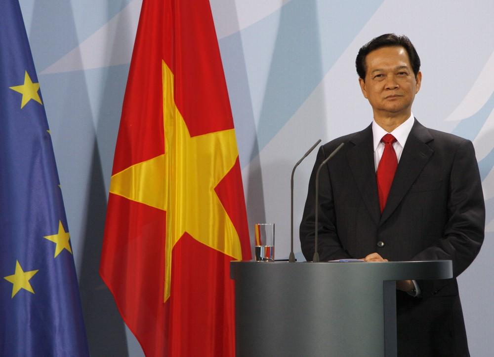 Vietnamese Prime Minister Nguyen Tan Dung. 360b / Shutterstock