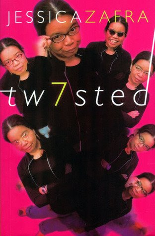 Writer, Jessica Zafra, in an ph promoting her Twisted series of books. (Photo from Jessica Zafra's Facebook page)