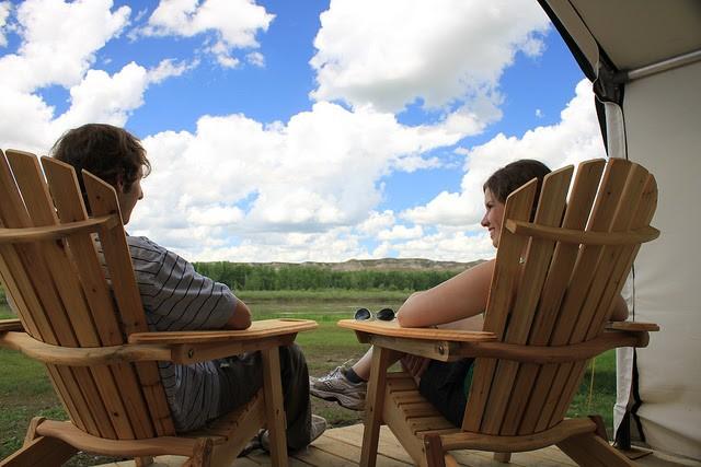 Comfort Camping. Alberta Tourism